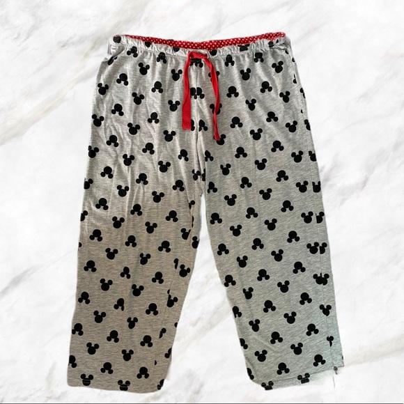 4/$30 🌺 Disney | Grey Mickey Mouse PJ Bottoms